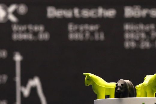 DAX Hits New Record High as Virus Fears Fade in China